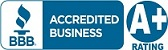 The SEO firm Brick Marketing has an A+ Rating with the Better Business Bureau!