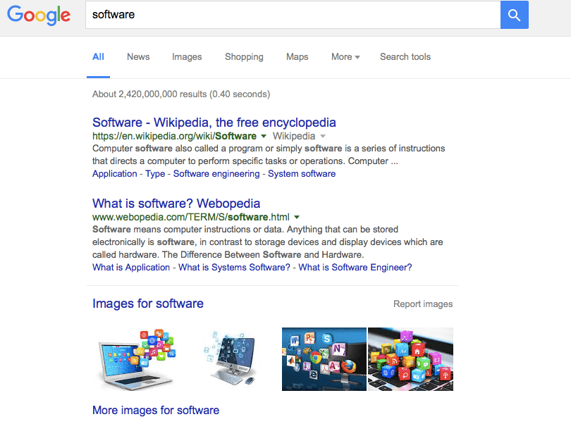 Software Search