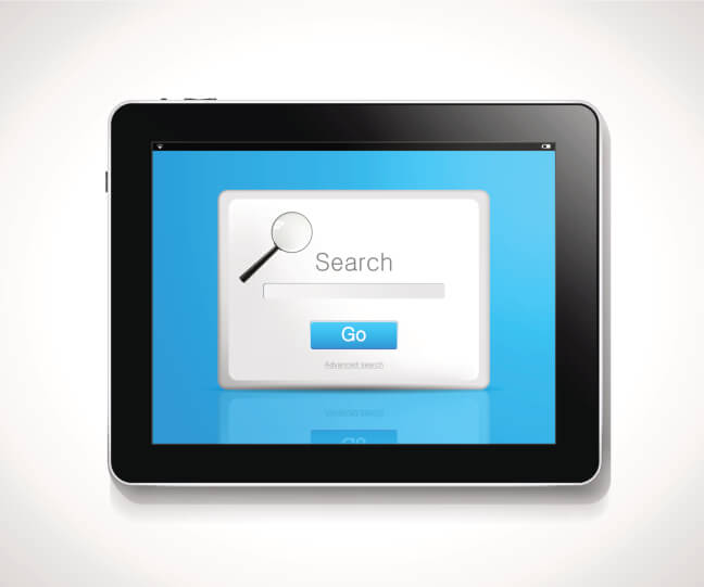 Tablet - search