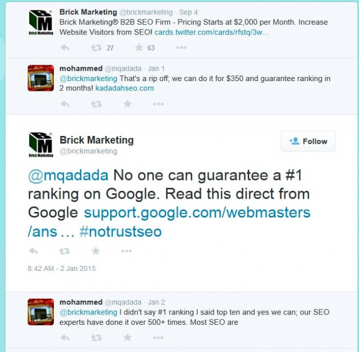 SEO Guarantees