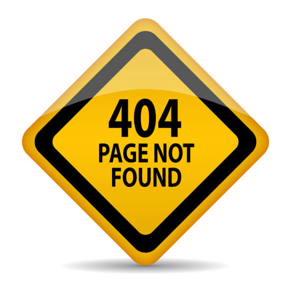 Public Service Announcement--Help Fix Error 404