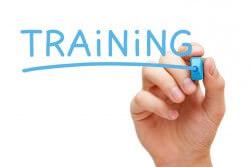 Training Blue Marker