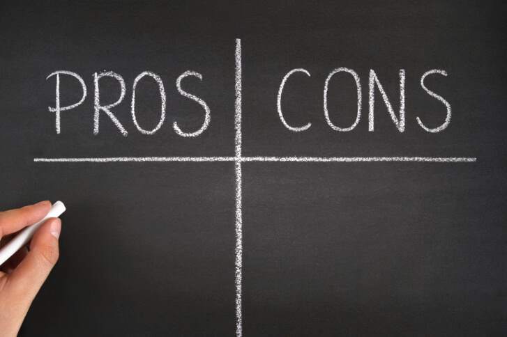 Pros and Cons List on Blackboard