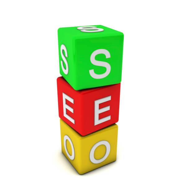 3d seo cubes