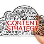 content strategy word cloud
