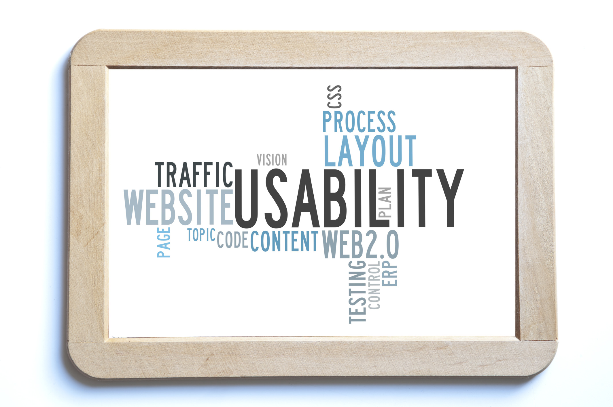 usability word cloud